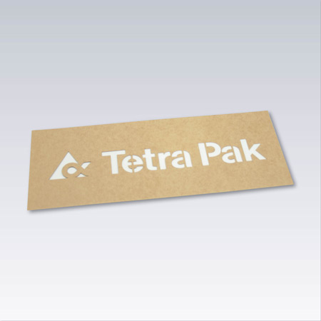 Oljebeständig papp - Standard 0,8 mm
