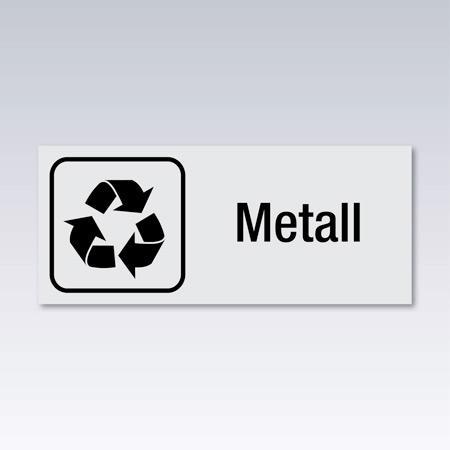 Storlek 165 x 70 mm, aluminium