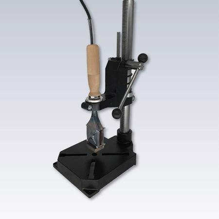 Handpress för brännstämplar
