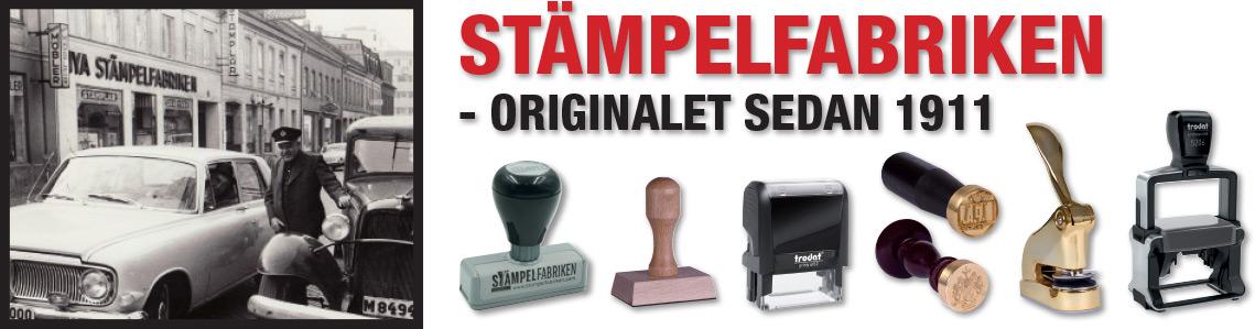 Stampelfabriken - Originalet sedan 1911