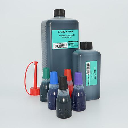 Vanlig stämpelfärg i standardkulörer - Vattenbaserad